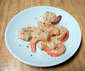 Paleo coconut lime shrimp