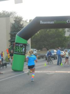 I felt amazing at the Oktoberfest 8k and I'm giving credit to my awesome playlist