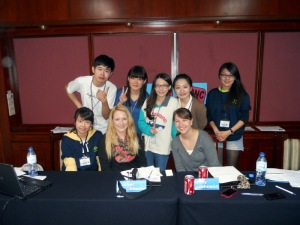 Awesome Taiwanese students