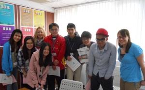 CCUSA students