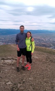 Summit of the Sentinel in Missoula