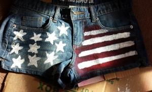 Patriotic jorts