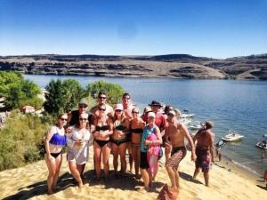 great group at the gorge