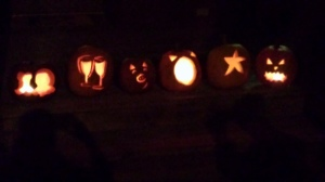 Our pumpkins!