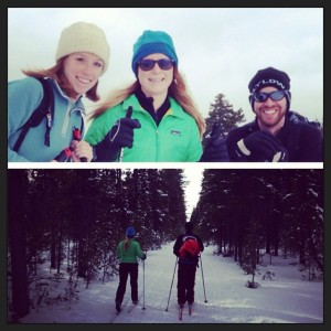 Skiing in West Yellowstone