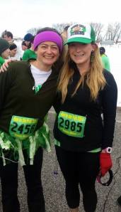 Whitney and I before the race